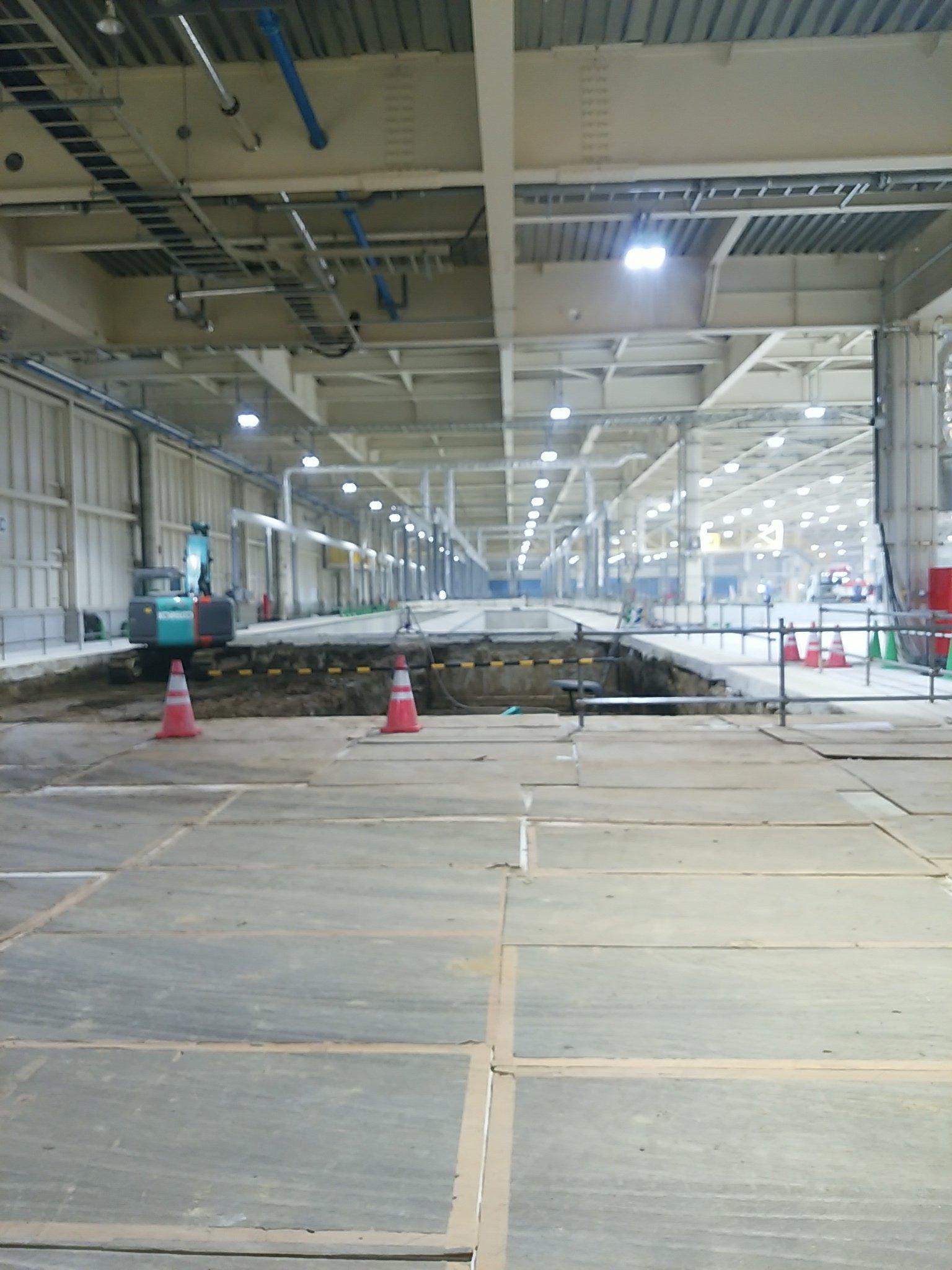 日野自動車古河工場ピット増設工場